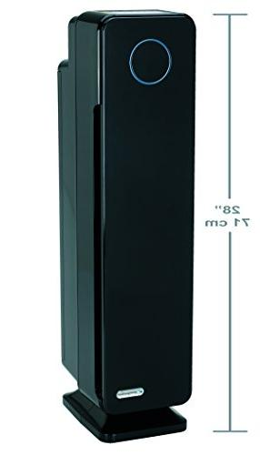Guardian Technologies Elite 4-in-1 HEPA Air Purifier System with 28-Inch Digital Onyx