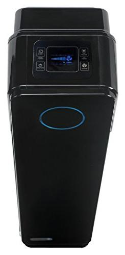 4-in-1 Purifier with Sanitizer and Odor 28-Inch Tower, Black Onyx