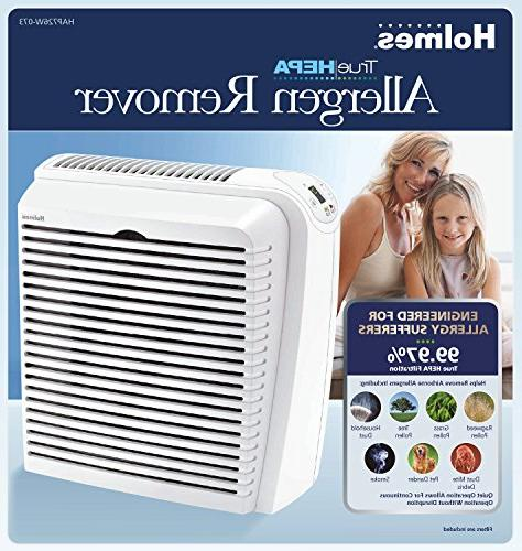 Holmes HEPA Remover with Digital Display for Medium Spaces, White