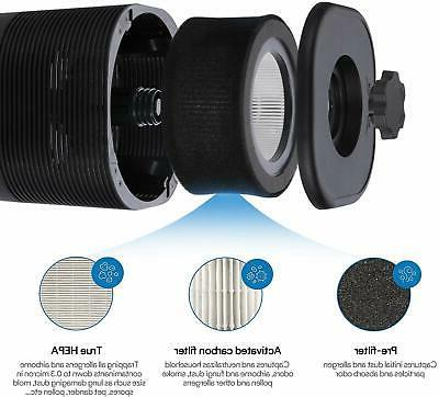 JETERY Filter Purifiers With Timer Sleep Home