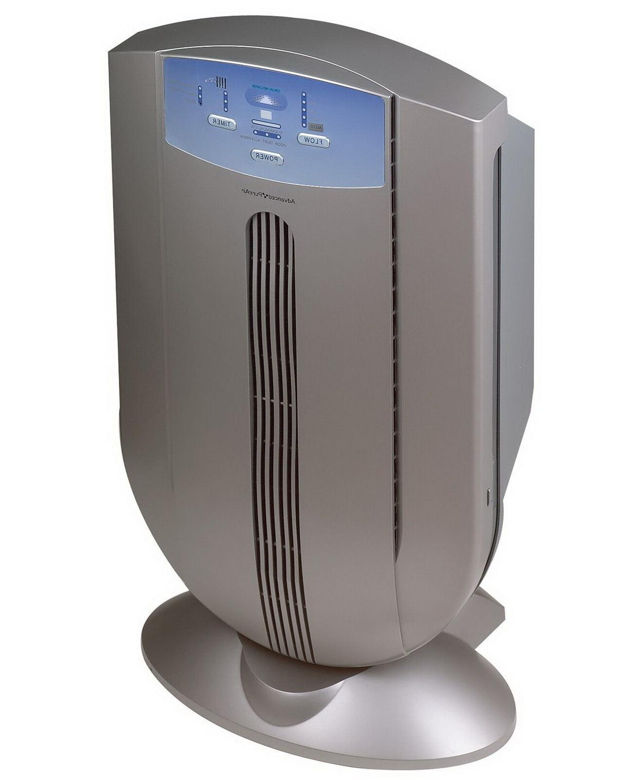 New HEPA Home Air Purifier Cleaner UV Ionizer