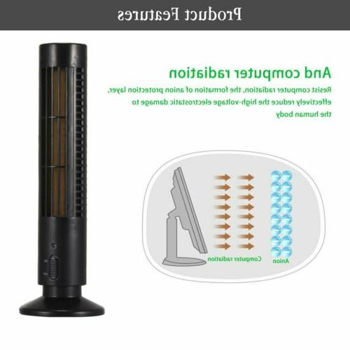 Air Cleaner Black Ionizator Portable Air Purifier Freshener