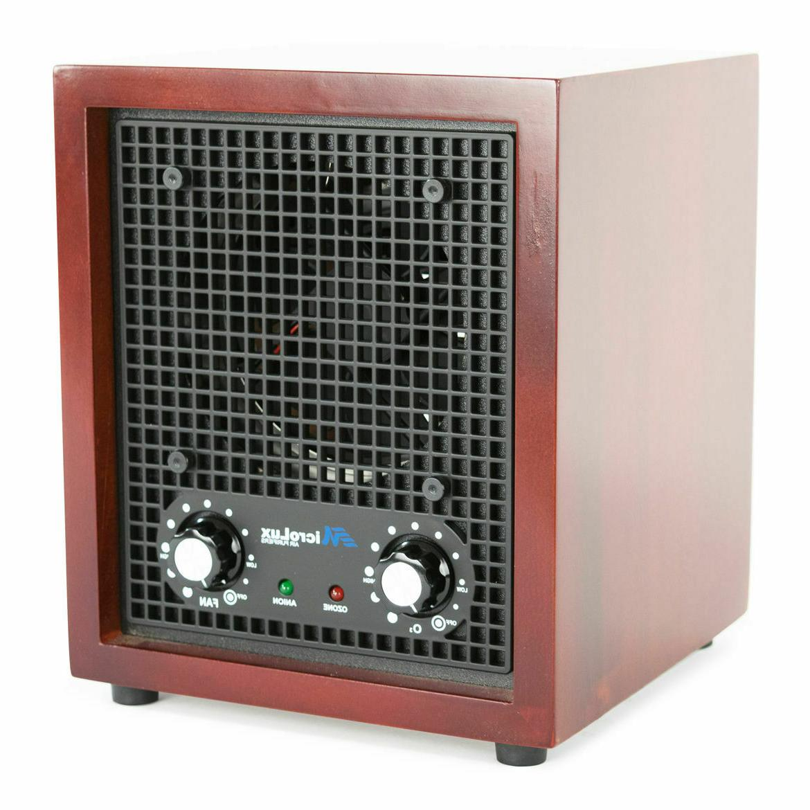 MicroLux Office UV Purifier Carbon Ion Air Cleaner -