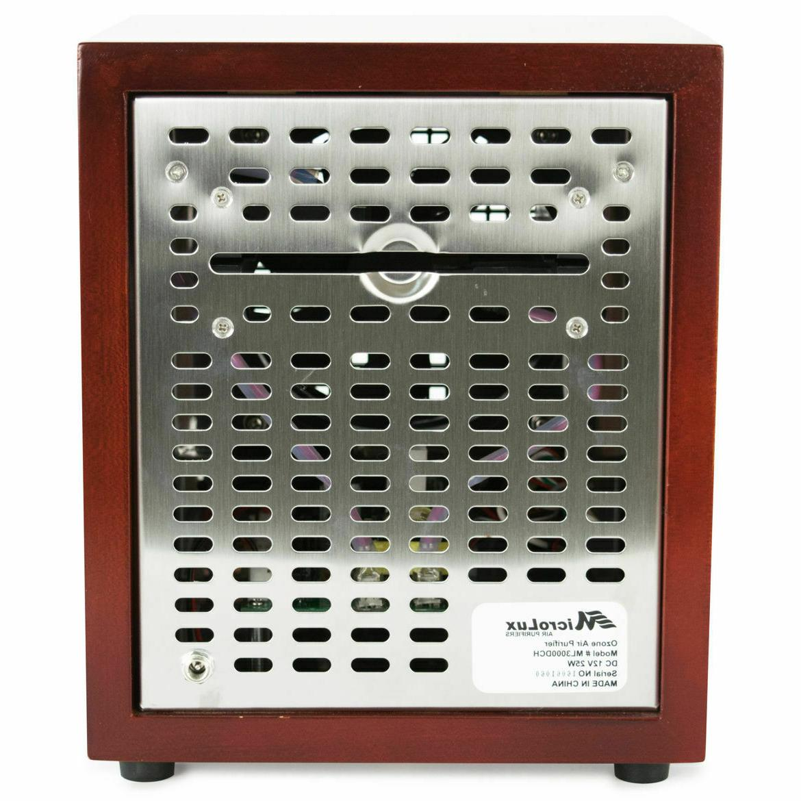 MicroLux Home Office UV Purifier HEPA Carbon -