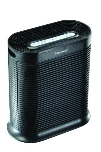 Honeywell HEPA Purifier, 465 sq Black