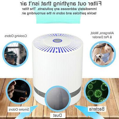 Large Room Air with True HEPA Filter Remove Allergies Noise-free