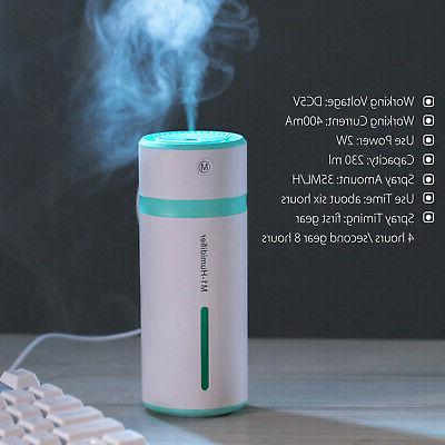 LED Humidifier Purifier Essential Oil