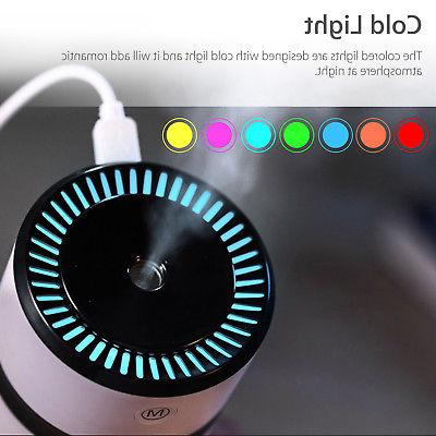 LED Humidifier Air Purifier Freshener Essential