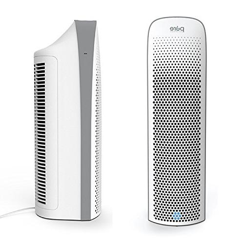Pure Enrichment Elite — Ultra-Quiet True HEPA Air Purifier for Home Quality UV-C Sanitizer — Safely Dust Smoke, Pets, Cooking & More