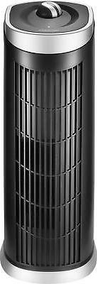 Insignia- Tower 108 Sq. Ft. Air Purifier - Black