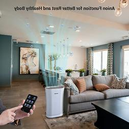 Large Room 4 in 1 Air Purifier with HEPA Filter UV-C Sanitiz