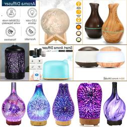 Air Aroma Essential Oil Diffuser LED Ultrasonic Aroma Aromat
