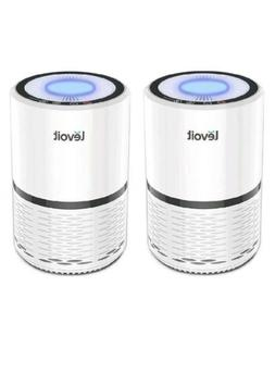 Lot of 2 Air Purifiers by LEVOIT LV-H132 for Home w/ True HE