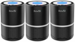 Levoit LV-H132 Compact HEPA Air Purifier 3Pack 3 Stage Filtr