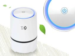 Quiet Air Purifier Home Odor Cleaner for Dust Pet Smoke Poll