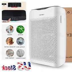 Smart Air Purifier Cleaner HEPA Filter Particle Carbon Filte