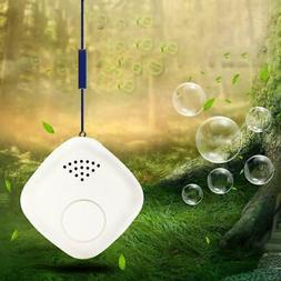 USB Portable Neck Hanging Negative Ion Air Purifier Travel A