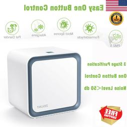 Ziglint 3 In 1 Ionic Air Purifier With HEPA Filter For Small